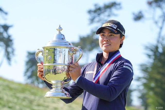2021年 全米女子オープン 4日目 笹生優花 全米女子オープンチャンピオン