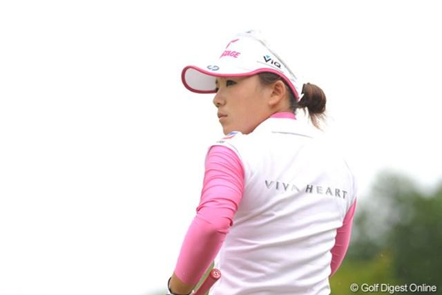 2010年 中京テレビ・ブリヂストンレディスオープン 最終日 有村智恵 一時は逆転の兆しを見せた有村智恵だったが・・・