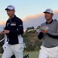 星野陸也とチャン・キムは同じ組でプレーして「全米オープン」の出場権を手にした 2021年 全米オープン 事前 星野陸也 チャン・キム