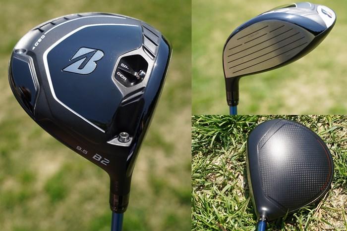 「B2」は上から見ると、「B1」に比べてヘッドが大きく見える 2021年 宮里藍サントリーレディスオープンゴルフトーナメント 初日 ブリヂストン