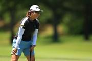 2021年 宮里藍サントリーレディスオープンゴルフトーナメント 初日 比嘉真美子