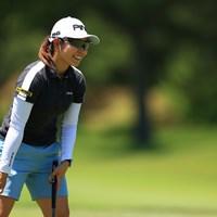スタートダッシュに充実の笑みもこぼれた比嘉真美子 2021年 宮里藍サントリーレディスオープンゴルフトーナメント 初日 比嘉真美子