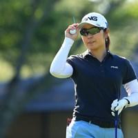 比嘉真美子が「64」のロケットスタートを切った 2021年 宮里藍サントリーレディスオープンゴルフトーナメント 比嘉真美子 初日