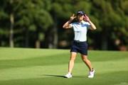 2021年 宮里藍サントリーレディスオープンゴルフトーナメント 初日 葭葉ルミ