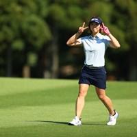 今日のゴルフは気持ちがいいと言っていた彼女。成績も気持ちがいい!! 2021年 宮里藍サントリーレディスオープンゴルフトーナメント 初日 葭葉ルミ