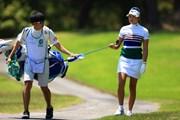 2021年 宮里藍サントリーレディスオープンゴルフトーナメント 初日 原英莉花