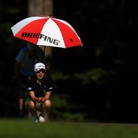 BRIEFING 2021年 宮里藍サントリーレディスオープンゴルフトーナメント 初日 宮里美香