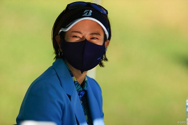 2021年 宮里藍サントリーレディスオープンゴルフトーナメント 初日 宮里藍 久しぶりの生の藍ちゃん