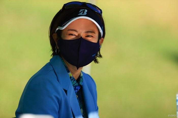 久しぶりの生の藍ちゃん 2021年 宮里藍サントリーレディスオープンゴルフトーナメント 初日 宮里藍