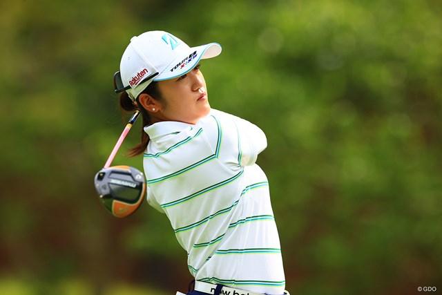 2021年 宮里藍サントリーレディスオープンゴルフトーナメント 2日目 稲見萌寧 稲見萌寧が2打差の首位で週末へ