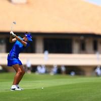 調整を続けたクラブセッティングは固まりつつあるという 2021年 宮里藍サントリーレディスオープンゴルフトーナメント 2日目 原英莉花