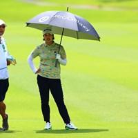 この二人にゴルフ場で絡まれたくない 2021年 宮里藍サントリーレディスオープンゴルフトーナメント 2日目 濱田茉優