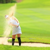 真未ちゃん。ごめん。 2021年 宮里藍サントリーレディスオープンゴルフトーナメント 2日目 福田真未