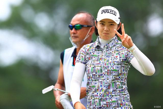 2021年 宮里藍サントリーレディスオープンゴルフトーナメント 2日目 辻梨恵 かわいいが怖いをかき消した