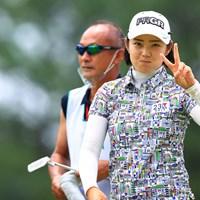 かわいいが怖いをかき消した 2021年 宮里藍サントリーレディスオープンゴルフトーナメント 2日目 辻梨恵