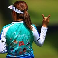 ヴィ トゥエルブ  V12 2021年 宮里藍サントリーレディスオープンゴルフトーナメント 2日目 篠原まりあ