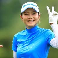 指が気になる 2021年 宮里藍サントリーレディスオープンゴルフトーナメント 2日目 山路晶