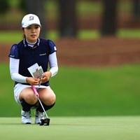 古江彩佳は首位と5打差の18位で決勝ラウンドに進んだ 2021年 宮里藍サントリーレディスオープンゴルフトーナメント 2日目 古江彩佳