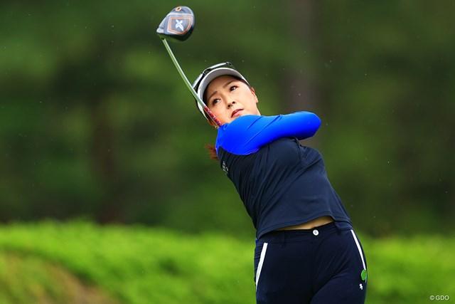 2021年 宮里藍サントリーレディスオープンゴルフトーナメント 3日目 青木瀬令奈 2017年以来のツアー2勝目を目指す青木瀬令奈