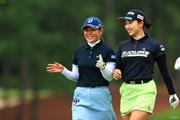 2021年 宮里藍サントリーレディスオープンゴルフトーナメント 3日目 小祝さくら 吉田優利