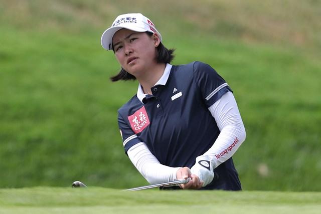 2021年 LPGAメディヒール選手権 3日目 李旻 首位に浮上した台湾の李旻(Jed Jacobsohn/Getty Images)