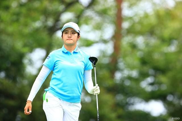 2021年 宮里藍サントリーレディスオープンゴルフトーナメント  最終日 稲見萌寧 稲見萌寧