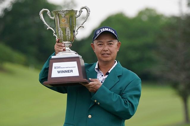2021年 スターツシニアゴルフトーナメント  最終日 谷口徹 谷口徹が完全優勝でシニア2勝目を挙げた(提供:日本プロゴルフ協会)