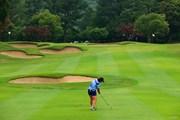2021年 宮里藍サントリーレディスオープンゴルフトーナメント 最終日 岡山絵里