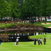 Hple18 par4 425yards  second shot 2021年 宮里藍サントリーレディスオープンゴルフトーナメント 最終日 青木瀬令奈