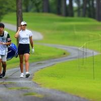 インスタに写真使ってくれてありがとう!! 2021年 宮里藍サントリーレディスオープンゴルフトーナメント 最終日 原英莉花