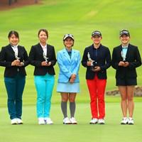 未来の女子プロに囲まれて 2021年 宮里藍サントリーレディスオープンゴルフトーナメント 最終日 宮里藍