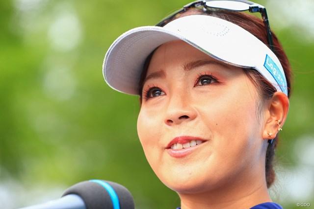 2021年 宮里藍サントリーレディスオープンゴルフトーナメント  最終日 青木瀬令奈 涙を流して歓喜した
