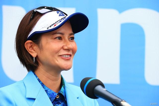 2021年 宮里藍サントリーレディスオープンゴルフトーナメント  最終日 宮里藍 大会アンバサダーとして4日間見守った