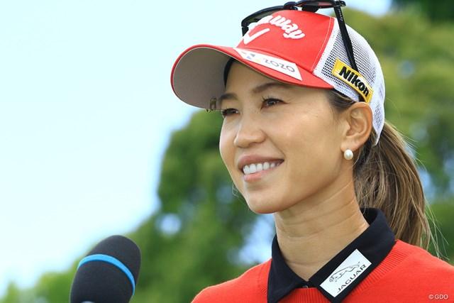 2021年 パナソニックオープンレディースゴルフトーナメント 3日目 上田桃子 5月「パナソニックオープンレディース」で優勝した上田桃子