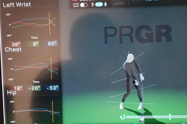 ゴルフを始めたらまず自分の最速上達ルートを知ろう インパクトで左腕の回旋角度が戻っていないことが判明