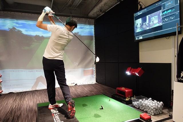 ゴルフを始めたらまず自分の最速上達ルートを知ろう 3Dモーションキャプチャーでスイングタイプを分析