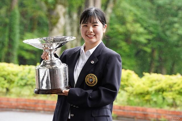 2021年 日本女子アマチュア選手権 尾関彩美悠 尾関彩美悠が逆転で「日本女子アマ」優勝を飾った