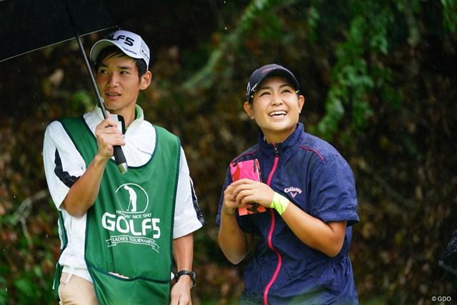 倉田珠里亜 首位で発進した倉田珠里亜※撮影は2017年「ゴルフ5レディス」