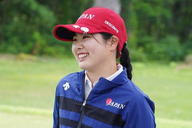 2021年 日本女子アマチュア選手権 尾関彩美悠 大会期間中に18歳になった尾関彩美悠