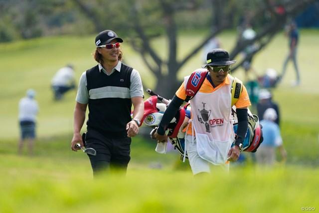 2021年 全米オープン 2日目 石川遼 上位進出で五輪代表への望みをわずかに残していた石川遼だったが…(撮影:田辺安啓)
