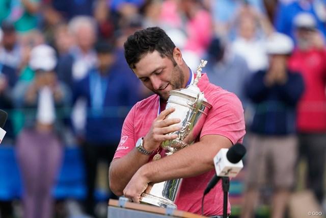 2021年 全米オープン 最終日 ジョン・ラーム 世界1位に返り咲いたジョン・ラーム