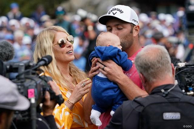 2021年 全米オープン 最終日 ジョン・ラーム 「最高の父」となったジョン・ラーム