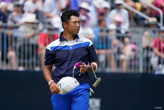 2021年 全米オープン 3日目 松山英樹 男子ゴルフの代表候補に決まった松山英樹(写真は2021年「全米オープン」)