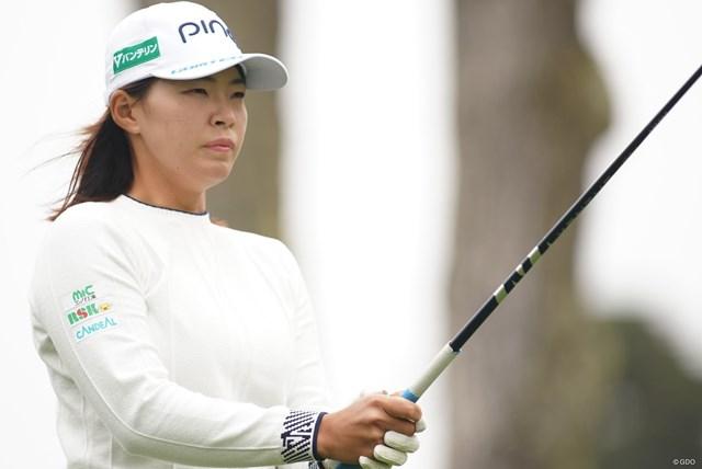 2021年 全米女子オープン 2日目 渋野日向子 渋野日向子にとっては五輪出場かけたラストチャンス(写真は2021年「全米女子オープン」)