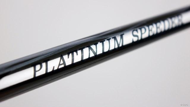プラチナム スピーダーを筒康博が試打「ネーミングに偽りなし」 ホログラムの鮮やかなメインロゴの裏面にもシックなロゴが