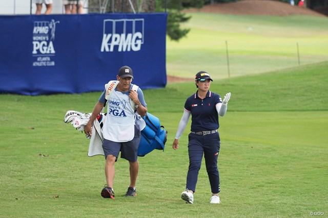 2021年 KPMG全米女子プロゴルフ選手権 事前 笹生優花 自身初のプロアマ戦を行った笹生優花