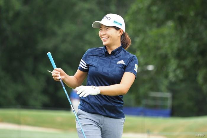 2021年 KPMG全米女子プロゴルフ選手権 事前 渋野日向子