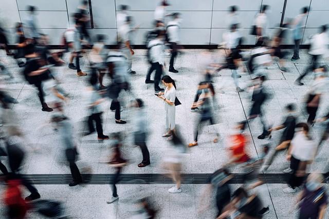 現代人 現代人は忙しすぎる?(Getty Images)