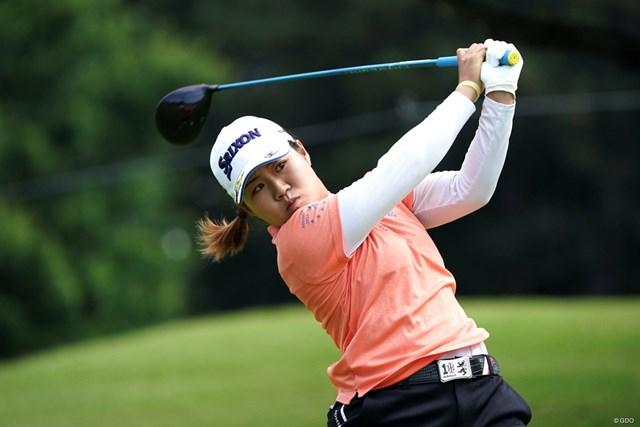 2021年 KPMG全米女子プロゴルフ選手権 初日 畑岡奈紗 畑岡奈紗は2アンダーで後半へ