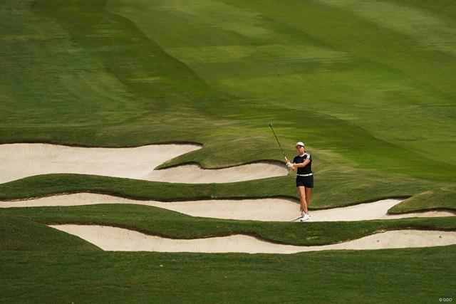 2021年 KPMG全米女子プロゴルフ選手権 初日 渋野日向子 渋野日向子はショットに苦しんだ